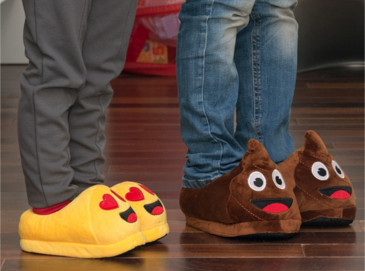 Zapatillas de Estar por Casa Emoticonos