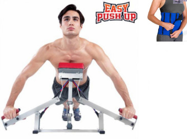Banco de Flexiones Easy Push Up + Faja Deportiva