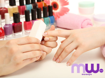 ¡Manicura Fabulux color o francesa!