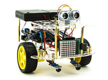Robot Educativo iggual  KIT FRANK-1 Arduino (30 pcs)