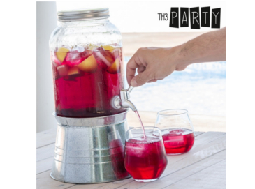 Dispensador de bebidas Th3 Party + 4 Jarritas Vintage Coconut