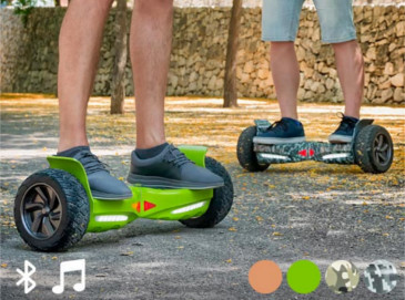 Patinete Eléctrico Hoverboard Bluetooth