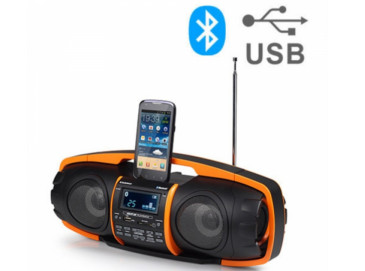 Radio o Super-Radio MP3 Bluetooth Audiosonic