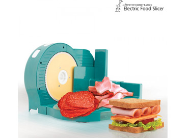 Cortafiambres Electric Food Slicer.
