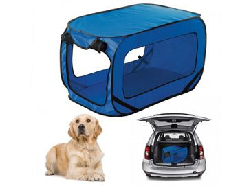 Transport�n para perros pleglable.