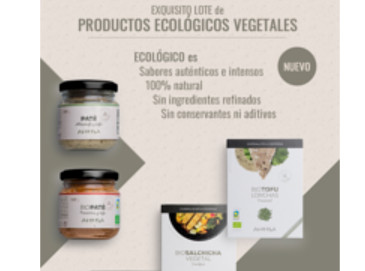 1 ó 2 lotes de Exquisitos Productos Ecológicos Vegetales