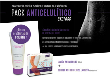 Pack anticelulítico express